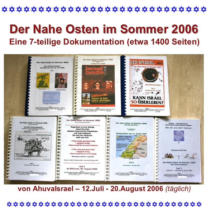 CD-Cover -Der Nahe Osten im Sommer 2006