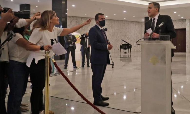 الرئيس المكلّف مصطفى أديب PHoto Credit: Reuters