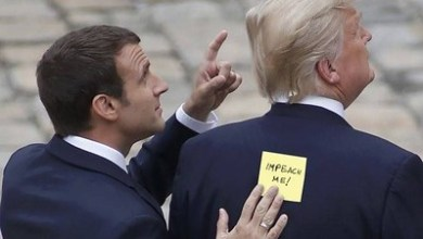 صورة قراءة جيوسياسية للمبادرتين الفرنسية والأميركية