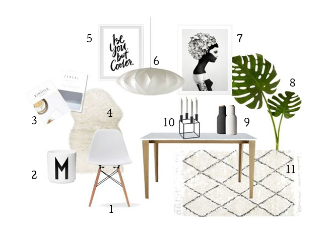 Scandi Kitsch Dining by minimalistmuss