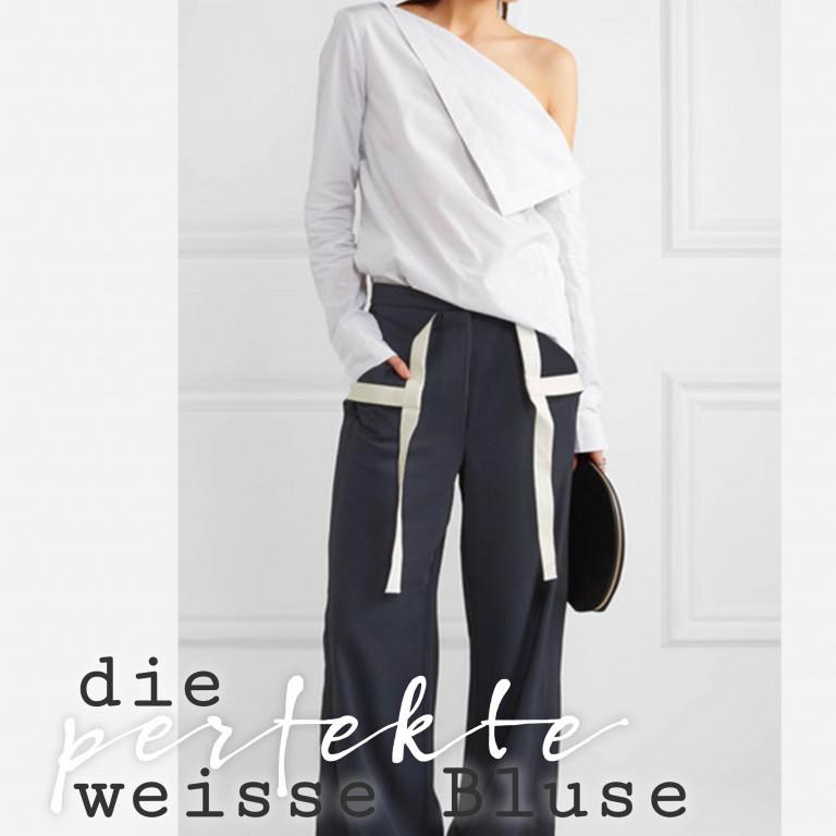 Die perfekte weisse Bluse - AHWH.CH