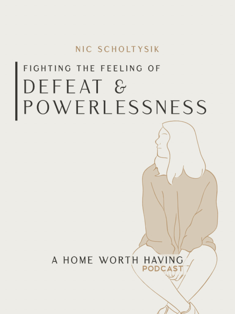 fighting defeat cover