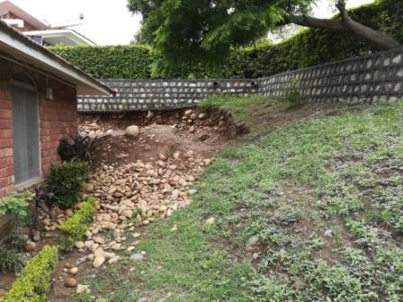 17 June 2018 Retaining Wall