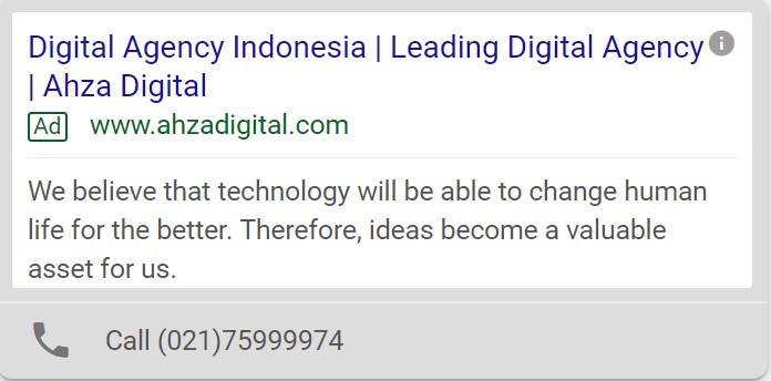 jasa google ads jakarta