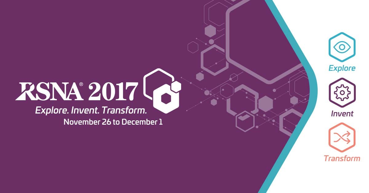 RSNA 2017 - radiology, AI, artificial intelligence, deep learning