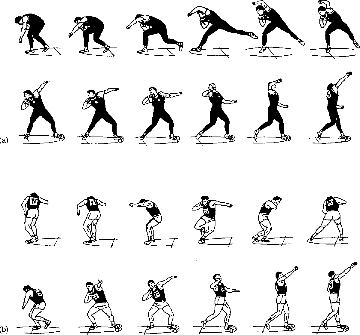 Figure 1 From Optimum Release Angle In The Shot Put