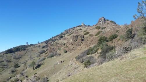 Looking back at Mt. Diablo
