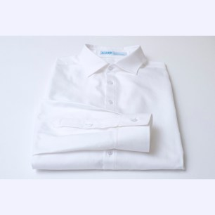 Albini royal oxford with spread collar