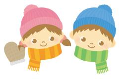 冬の子どもイラスト