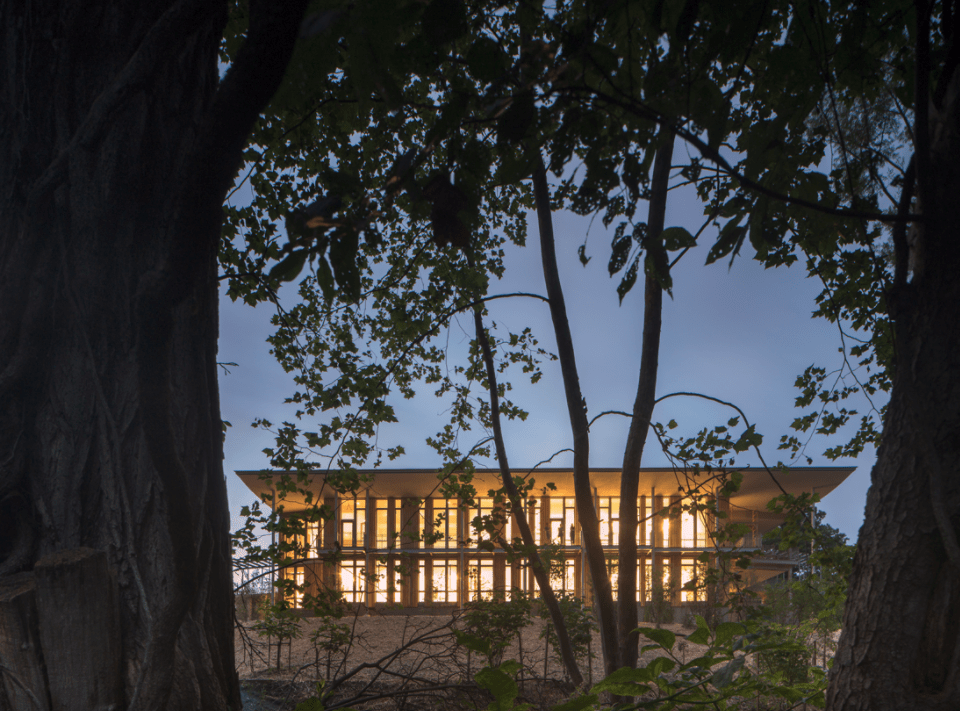 Frick Environmental Center | Bohlin Cywinksi Jackson