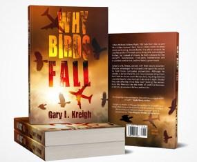 Why Birds Fall Book Cover Design