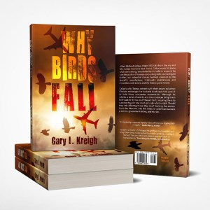 Why Birds Fall Book Cover Design
