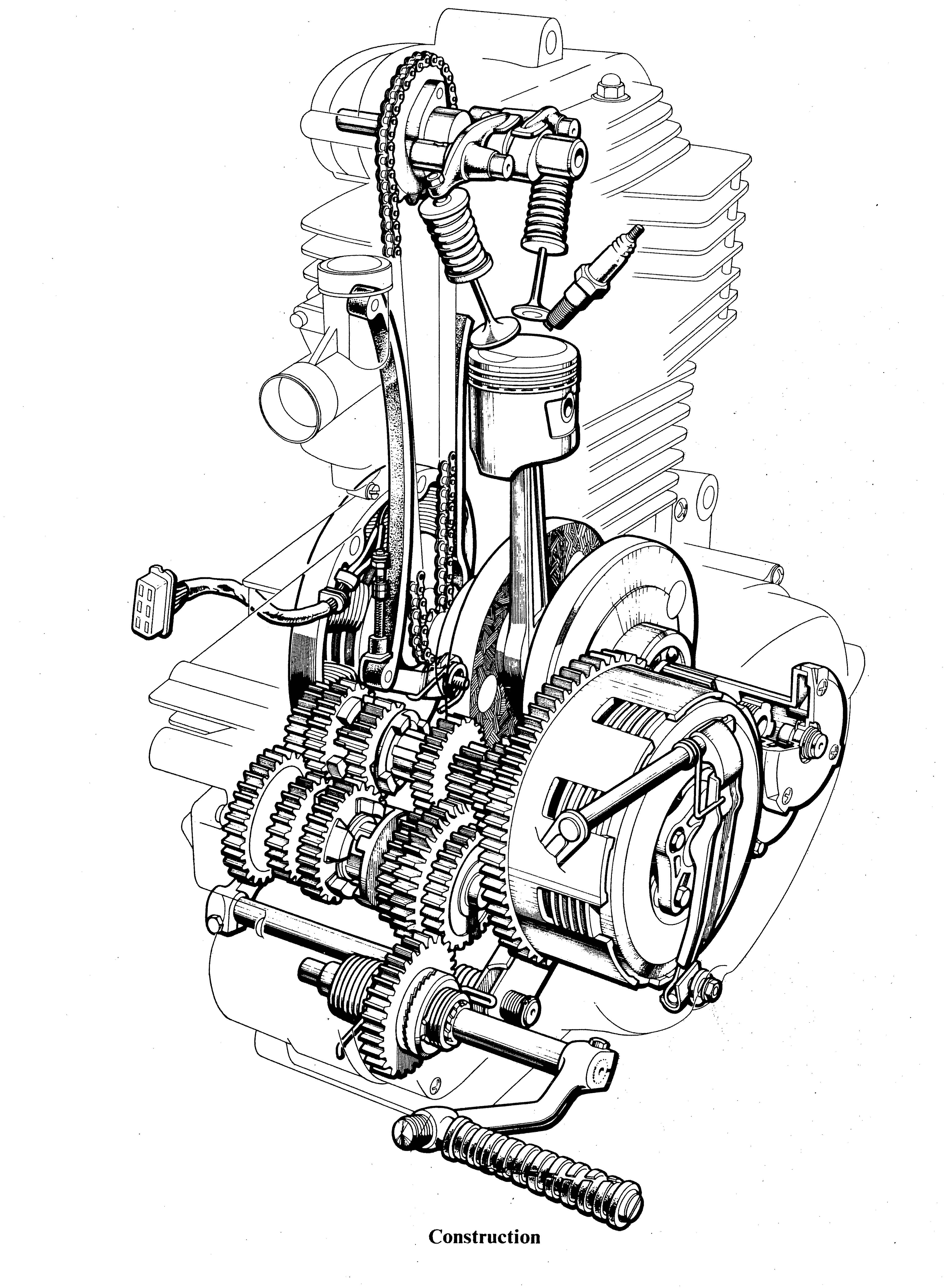 A Diagram Of An Evolution Engines