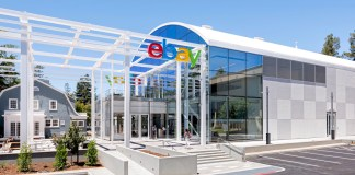 eBay headquarters in San Jose - ecommerce giant
