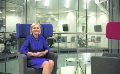 Amanda Blanc, CEO of Axa UK and a leading proponent of autonomous vehicles in the UK