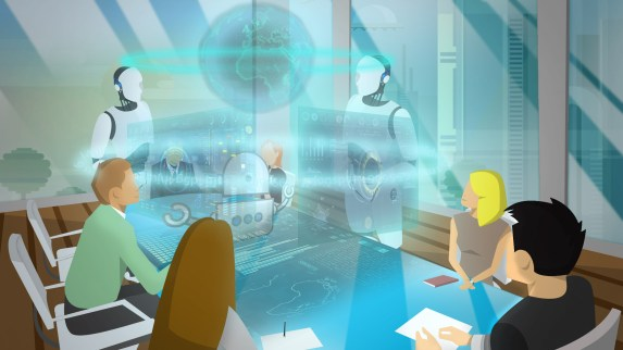 the augmented boardroom