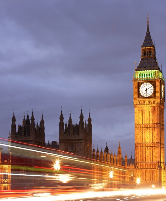 Big Ben and the Houses of Parliament, London, UK