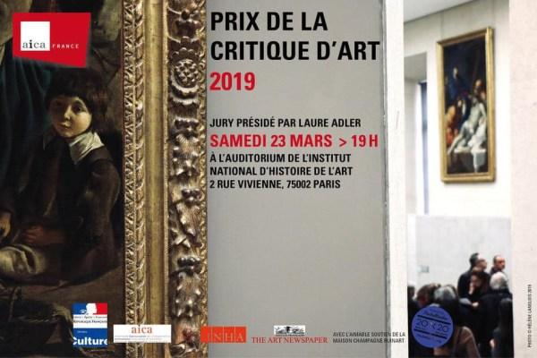 Prix AICA-France 2019