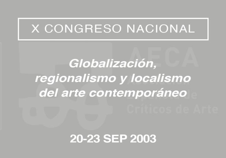 X Congreso Nacional de la Asociación Española de Críticos de Arte