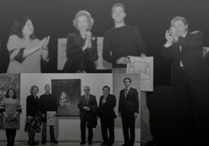 S. M. La Reina Dª Sofía y la pintura