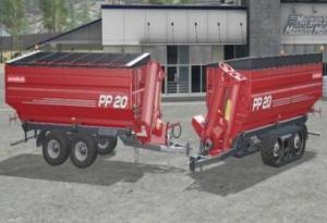 [FBM TEAM] METALTECH PP 20 PACK V1.0 The MetalTech PP20 Conveyor Cart as Wheel and Crawler Vision with Dynamic Hoses. Contains: MetalTech PP 20 Wheel Version Price: 51000 € Required power: 200 hp Capacity: 28000 l / MR 25700 l Maintenance: 100 € / day Contains: MetalTech PP 20 Crawler Version Price: 65000 € Required power: 200 hp Capacity: 28000 l / MR 25700 l Maintenance: 100 € / day