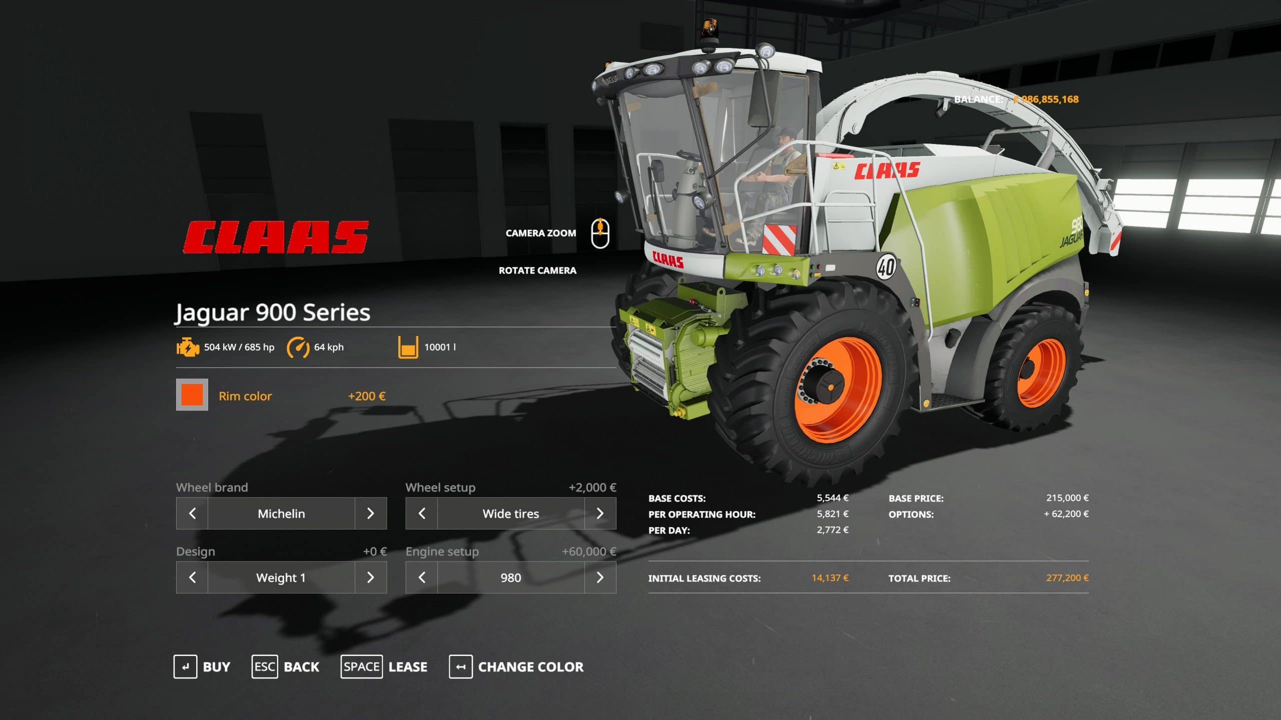Farming Simulator 19 Mods - Claas Jaguar 900 - Ai Cave
