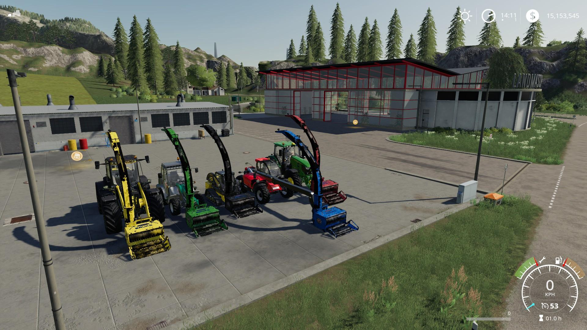 BRUKS ALL IN ONE - Ai Cave - Farming Simulator Mods