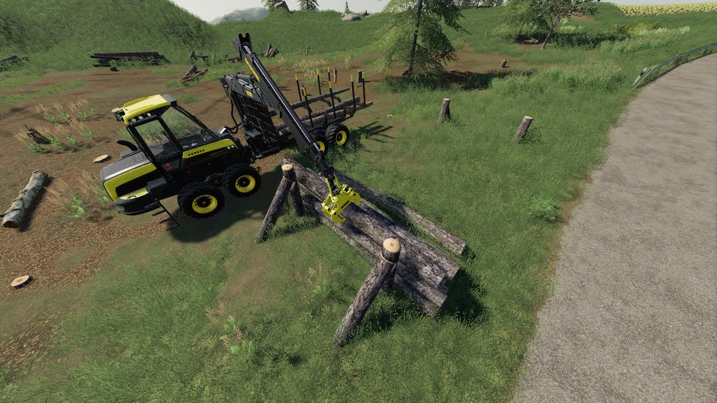 Wooden Support and Storage - Farming Simulator 19 Mods - Ai Cave