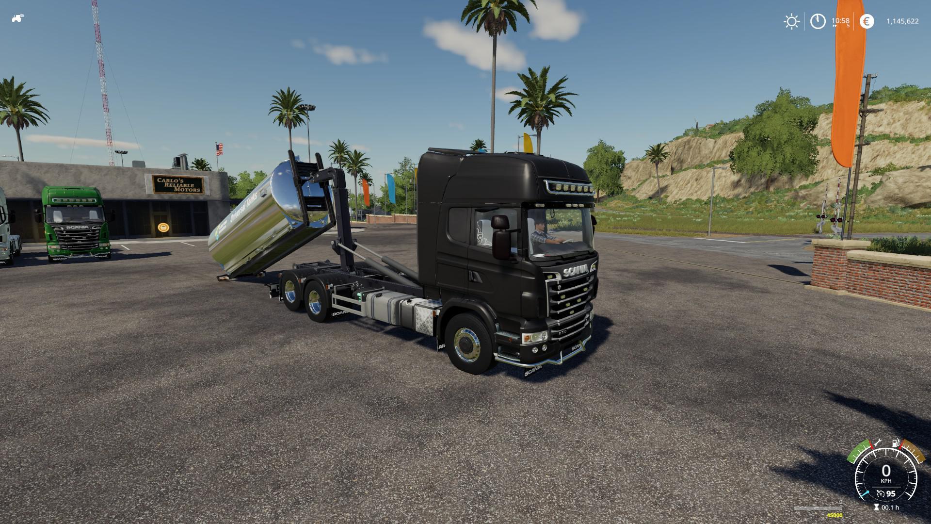 SCANIA R730 HOOKLIFT - Farming Simulator 19 Mods - Ai Cave