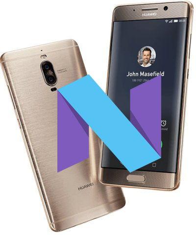 Huawei Mate 9 Pro B181 MHA-L29 Nougat Firmware