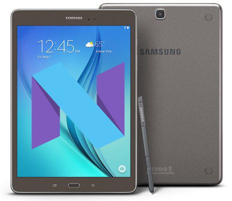 Root Samsung Galaxy Tab S2 SM-T815 Nougat Install TWRP 3 1 0