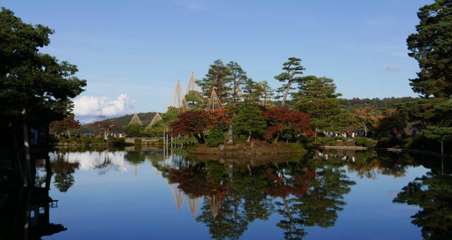 金沢旅行情報:兼六園での絶景ポイント