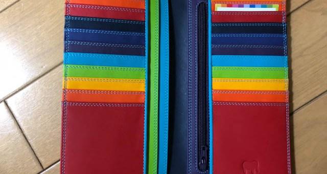 イタリア製のカラフル財布 mywalit