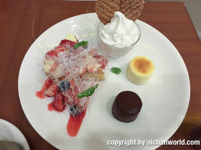 我が家的、札幌・小樽のスイーツ紹介 :デザートセット