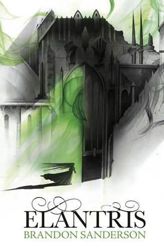 Bildresultat för elantris brandon sanderson UK cover