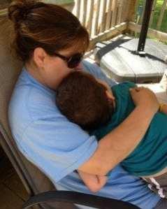 Aidan & Mommy
