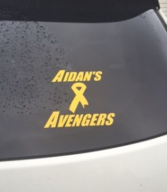 Avengers Battle Childhood Cancer