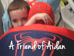 Aidan & Spiderman