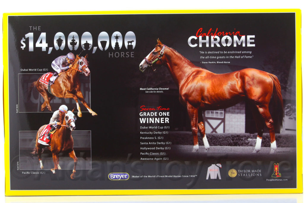 Breyer California Chrome 1792 Two Time Horse Of The Year