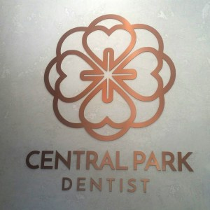 Central Park Dentist Logo and website design