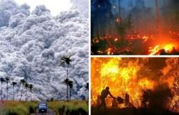 Desastres naturais.