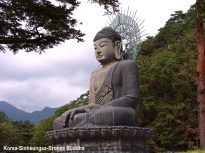 Sinheungsa Bronze Buddha