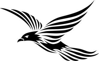bird_vector_tribal_style_by_vectorportal-d3garcs