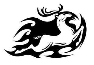 Tribal-Deer-Tattoo