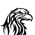 Tribal-Eagle-Head