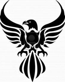 Tribal Eagle Tattoo (47)