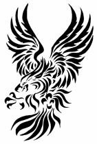 Tribal Eagle Tattoo (53)