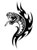 Tribal-Snake-Tattoo