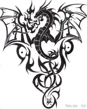 Tribal_Dragon_by_Tigeress08