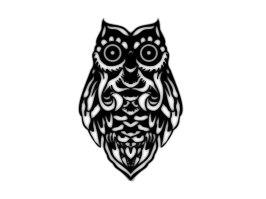 tribal_owl_with_big_eyes_tattoo_idea